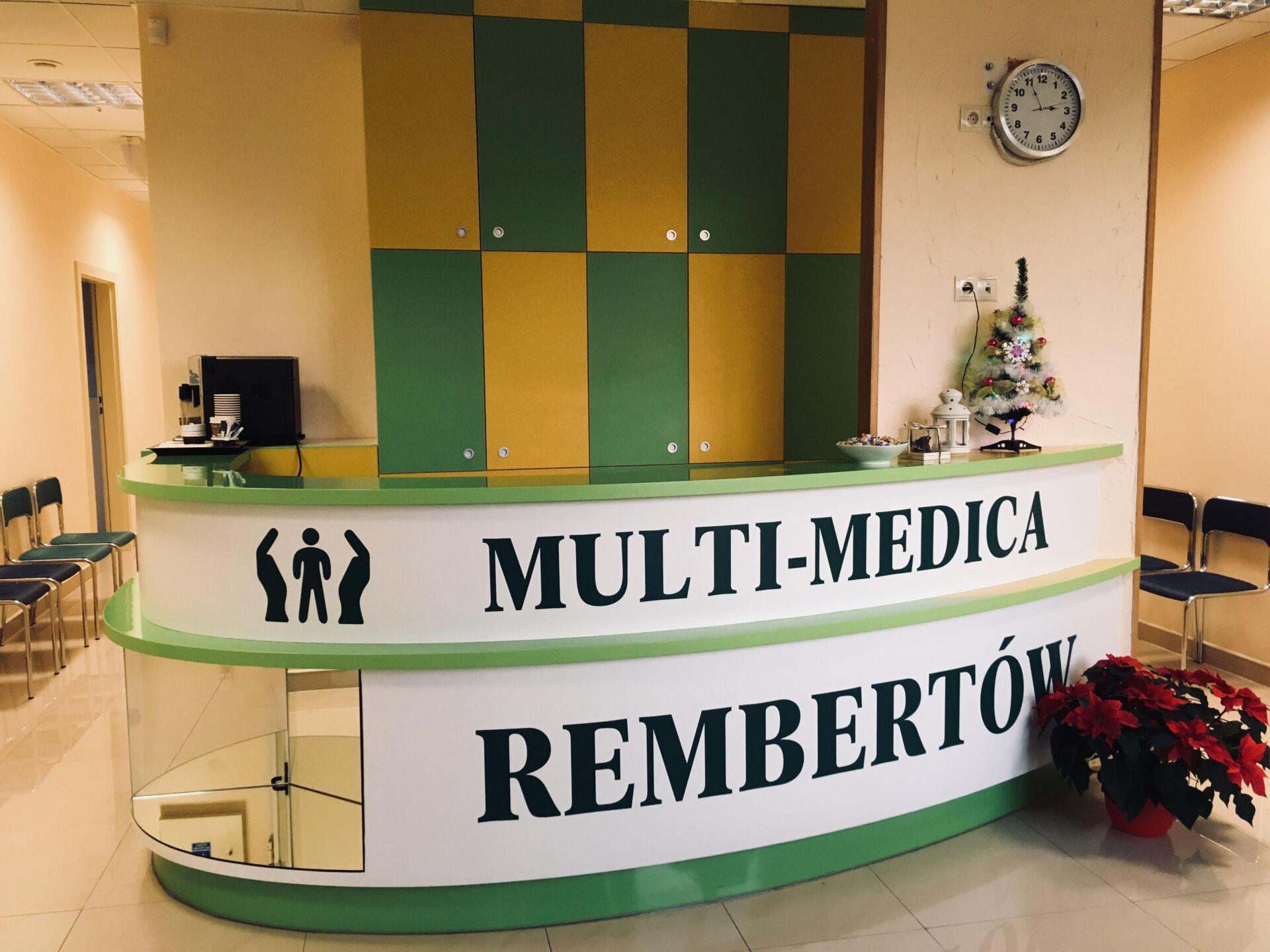 Recepcja Multi-Medica Rembertów